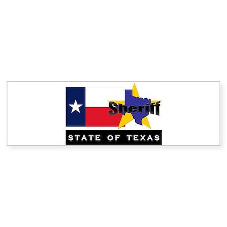 Texas Sheriff Bumper Sticker
