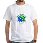 West Virginia Rivers Coalition White T-Shirt