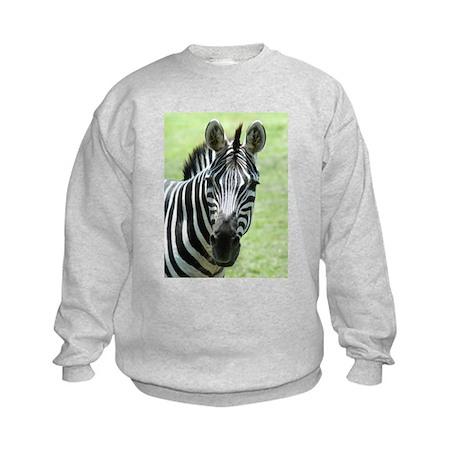 Zebra 4 Kids Sweatshirt