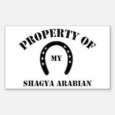 My Shagya Arabian Rectangle Decal