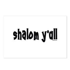 Shalom Y'All Jewish Postcards (Package of 8)