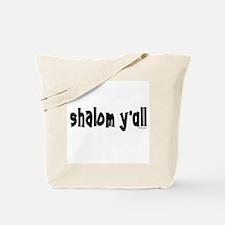 Shalom Y'All Jewish Tote Bag