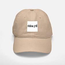 Shalom Y'All Jewish Baseball Baseball Cap