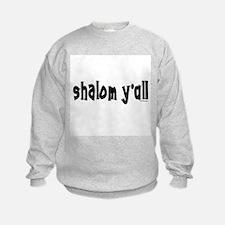 Shalom Y'All Jewish Sweatshirt