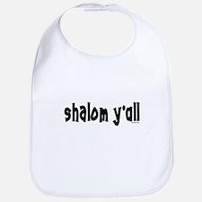 Shalom Y'All Jewish Bib