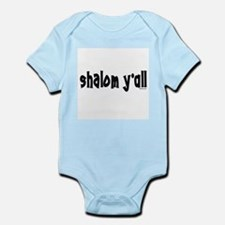 Shalom Y'All Jewish Infant Bodysuit