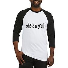 Shalom Y'All Jewish Baseball Jersey