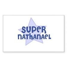 Super Nathanael Rectangle Decal