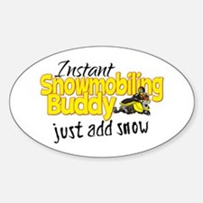 Instant Snowmobiling Buddy Decal