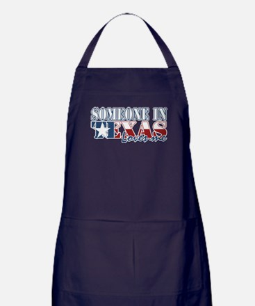 Someone in Texas Apron (dark)