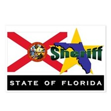 Florida Sheriff Postcards (Package of 8)