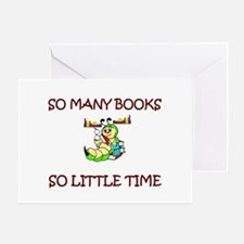 Funny Book clubs Greeting Card