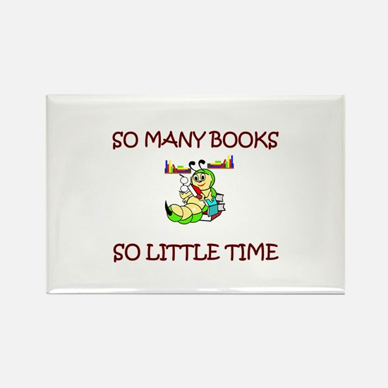 Unique Book clubs Rectangle Magnet (10 pack)