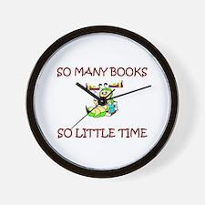 Cute Book club Wall Clock