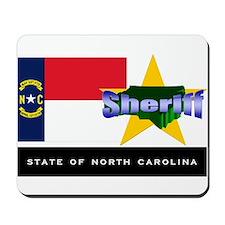 North Carolina Sheriff Mousepad