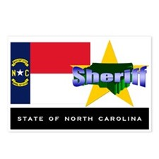 North Carolina Sheriff Postcards (Package of 8)