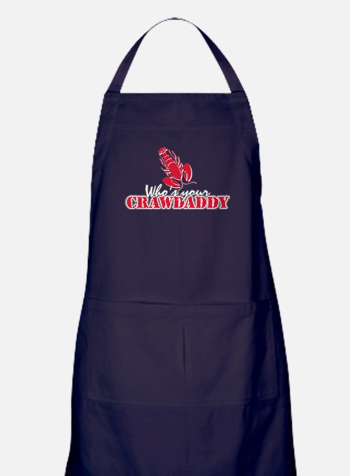 Who's ur Crawdaddy Apron (dark)