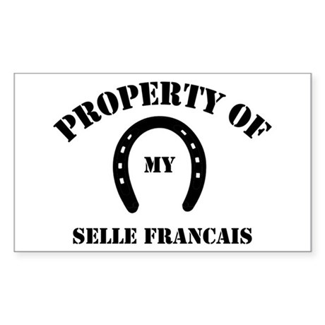 My Selle Francais Rectangle Sticker