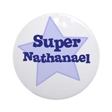 Super Nathanael Ornament (Round)