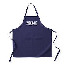 Milk for dinner Apron (dark)