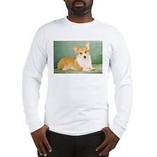 corgi corner Long Sleeve T-Shirt