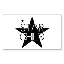 Star Child Rectangle Decal
