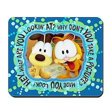 Garfield Goofy Faces Mousepad