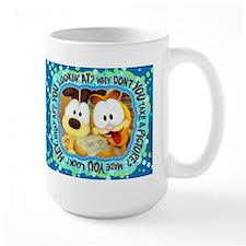 Garfield Goofy Faces Mug