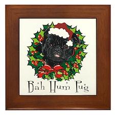 Bella Bah Hum Pug Framed Tile