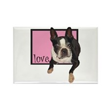 Clare Taylor Love Rectangle Magnet