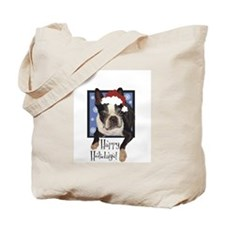 Clare Taylor Santa Tote Bag