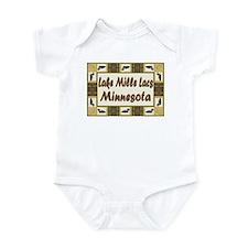 Mille Lacs Loon Infant Bodysuit