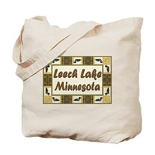 Leech Lake Loon Tote Bag