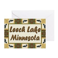 Leech Lake Loon Greeting Card