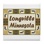 Longville Loon Tile Coaster