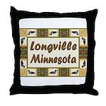 Longville Loon Throw Pillow