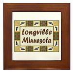 Longville Loon Framed Tile