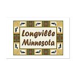 Longville Loon Mini Poster Print