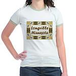 Longville Loon Jr. Ringer T-Shirt