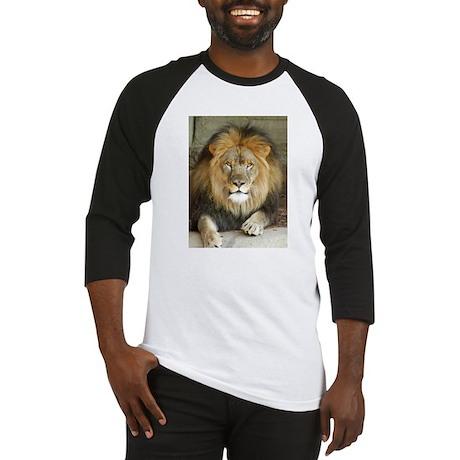 African Lion 3 Baseball Jersey
