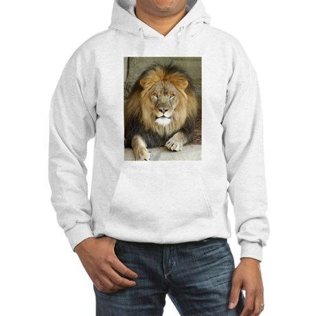African Lion 3 Hooded Sweatshirt