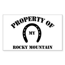 My Rocky Mountain Rectangle Decal