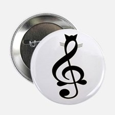 "Jazz Cat 2.25"" Button (100 pack)"
