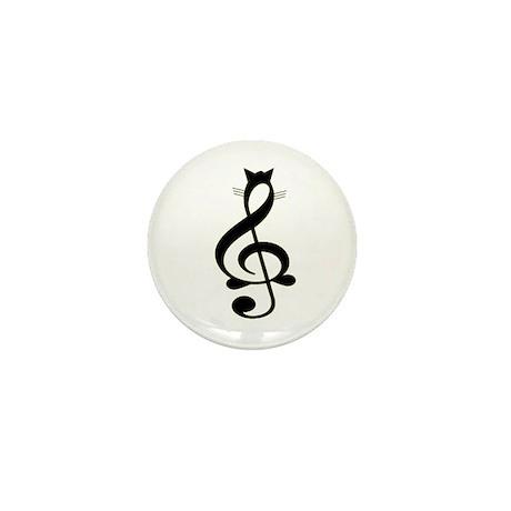 Jazz Cat Mini Button (100 pack)