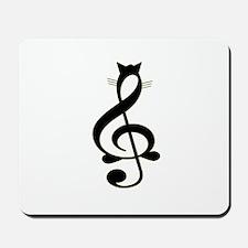 Jazz Cat Mousepad