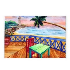 Cute Jamaica Postcards (Package of 8)
