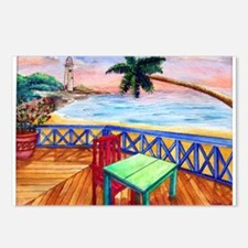 Cute Palm beach Postcards (Package of 8)