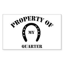 My Quarter Rectangle Decal