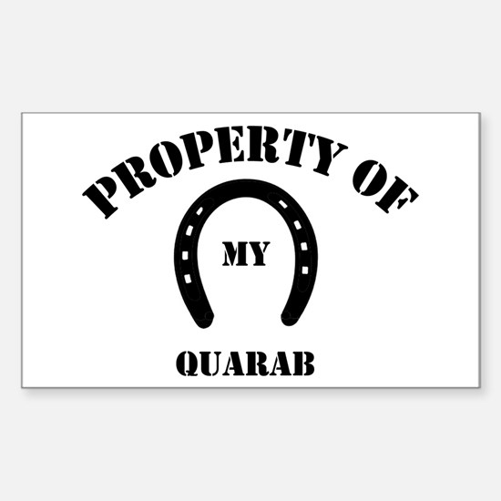 My Quarab Rectangle Decal