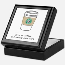 gimme coffee Keepsake Box